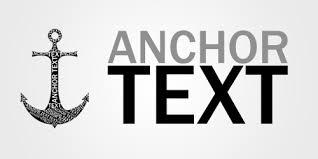 Optimization of anchor text